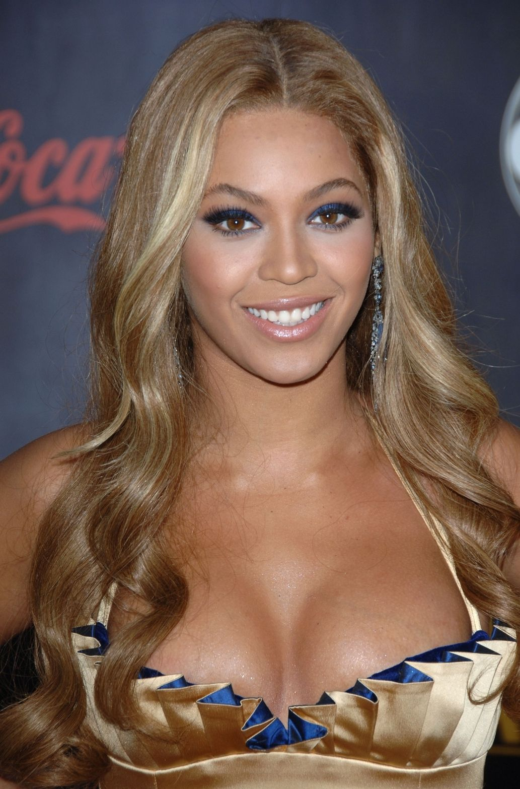 Beyonce breast size