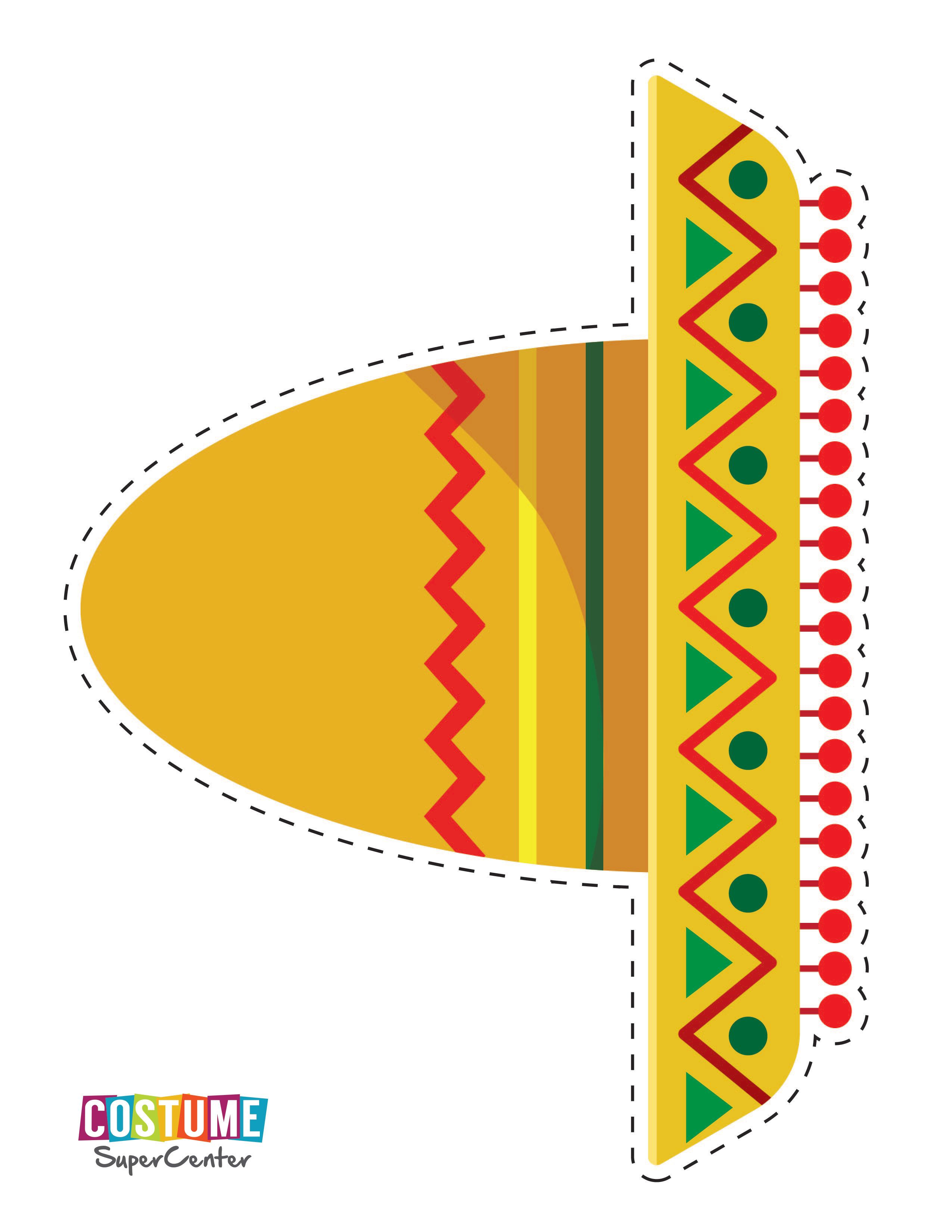 Cinco De Mayo Printable Photo Booth Props