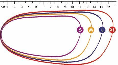 Muestrario talla zapato de bebe // Baby Shoes Size Chart