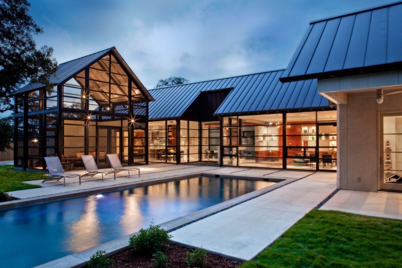 4 Shavano Park House Modern Glass House House Design Pictures Glass House Design