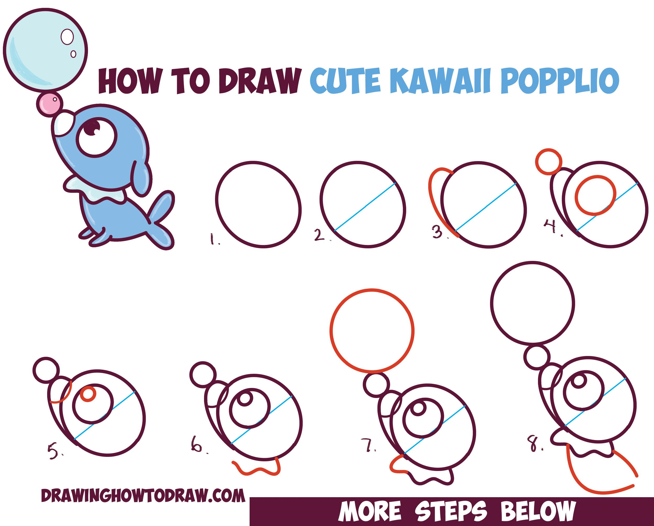 how to draw chibi kawaii togepi from pokemon easy drawing