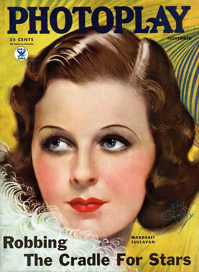Photoplay 1934-11 Margaret Sullavan Earl Christy