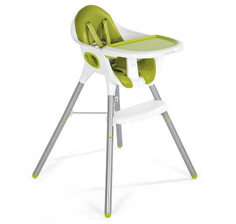 converts from highchair to low chair (so when the kids get older they can eat at the table)