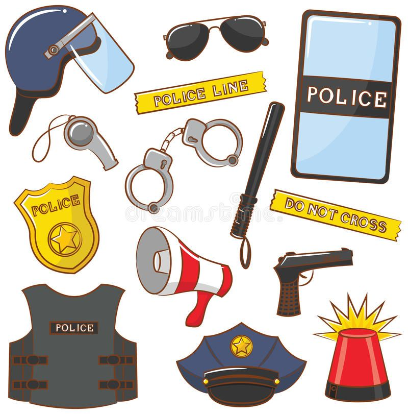 Police Icons Cute Collection Of Color Police Icons Spon Cute Icons Bolo De Policial Desenho De Boneco Palito Aniversario Com Tema De Princesa Disney