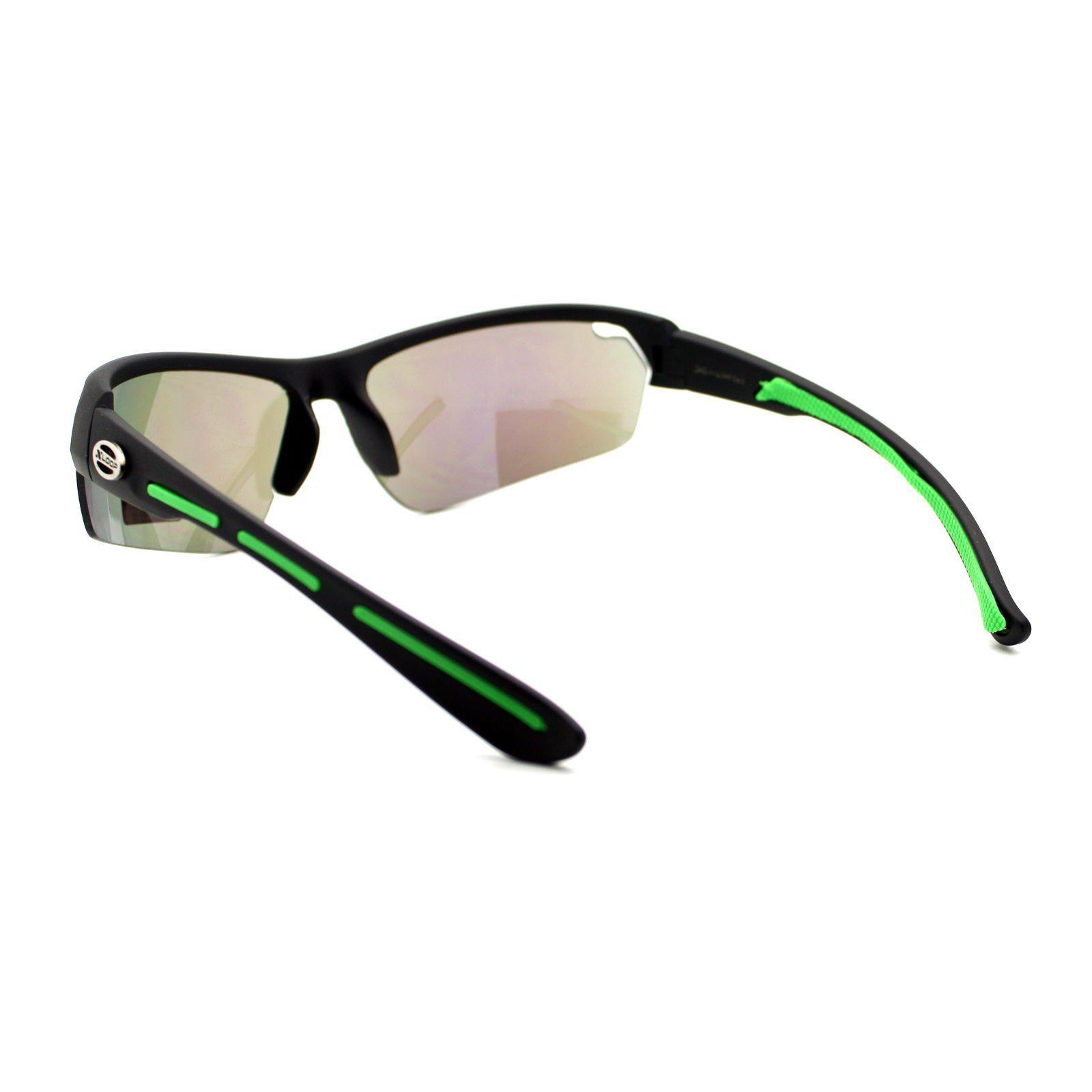 a11d496517 Xloop Polarized Lens Sunglasses Mens Half Rim Sports Wrap Around Shades  Men s Accessories Sunglasses   Sunglasses Accessories