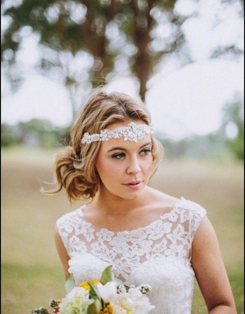 most coolest wedding hairstyles with headband weddin