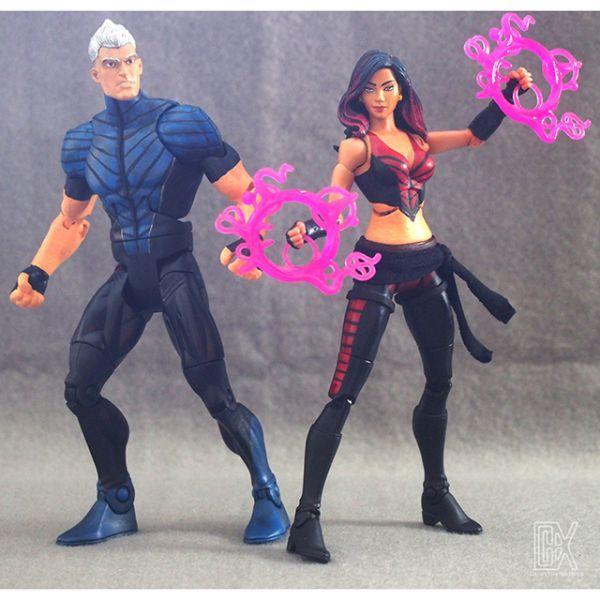 quicksilver ultimate marvel legends custom action figure