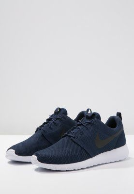 1b7add8d4429 Nike Sportswear ROSHE ONE - Sneaker - midnight navy black white - Zalando.