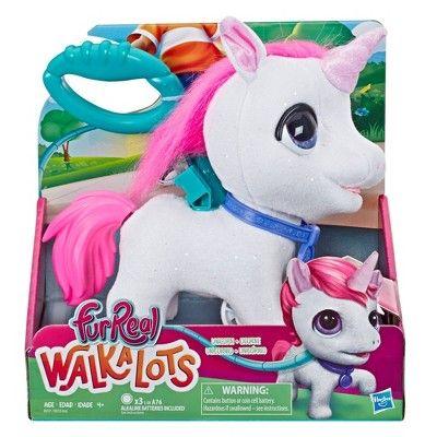 furReal Walkalots Big Wags Unicorn Baby girl toys