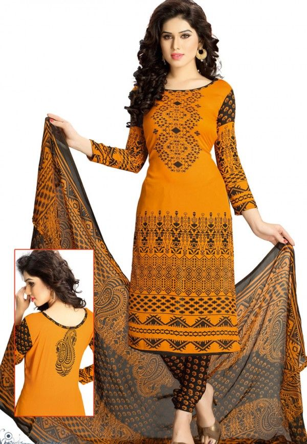 17e9806587 Womens #Unstitched Polyester #Dress #Material | Womens Ethnic Wear ...