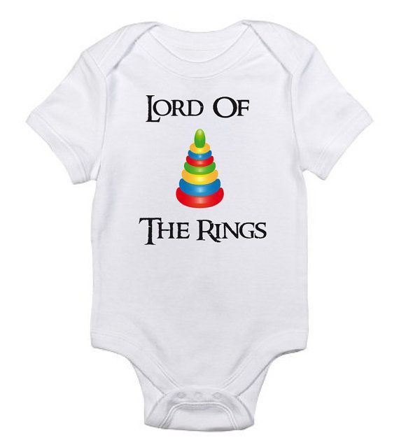 Lord Of The Rings Onesie Design by whimsygraphicdesign on Etsy - onesies designs