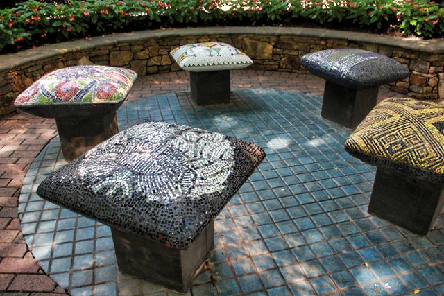 Artistic Outdoor Furniture, Charlotte, NC Park