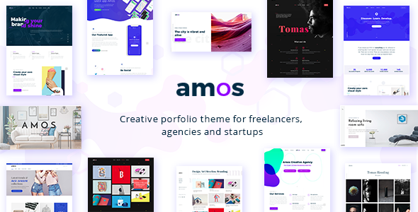 Amos v1.3 Full Creative WordPress Theme in 2020