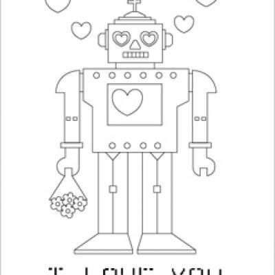 Valentine\'s coloring pages - 3 to choose from- good for class party ...