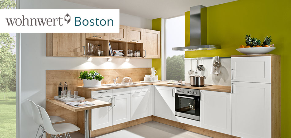 Favorit Design Wohnwert Serie Boston Mobel Hoffner In 2020 Kuche Block Kuchen Planung Kuchenfarbe