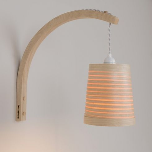 Designer Wooden Wall Lights Tom Raffield