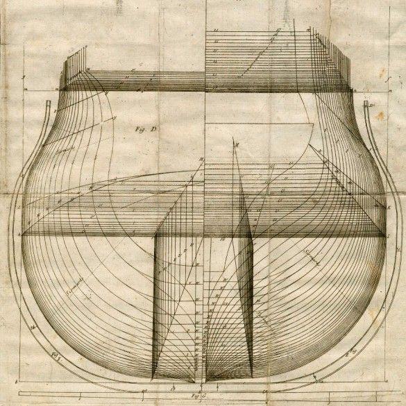 Spline Ship Body Plan