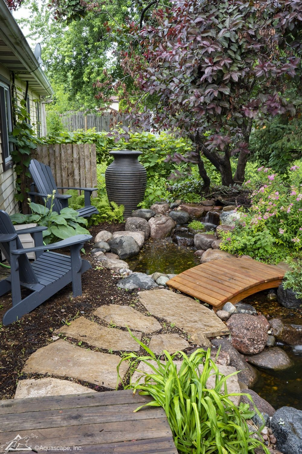 Small Ponds Pack a Punch | Aquascape, Inc. in 2020 | Small ...