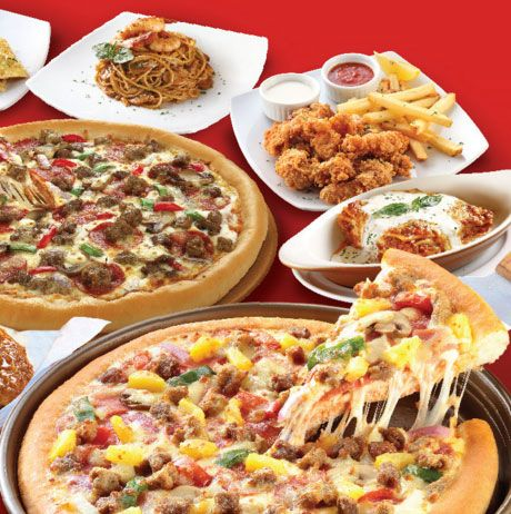 photo regarding Pizza Hut Menu Printable titled Watch the Pizza Hut menu with price ranges and Pizza Hut discount coupons for