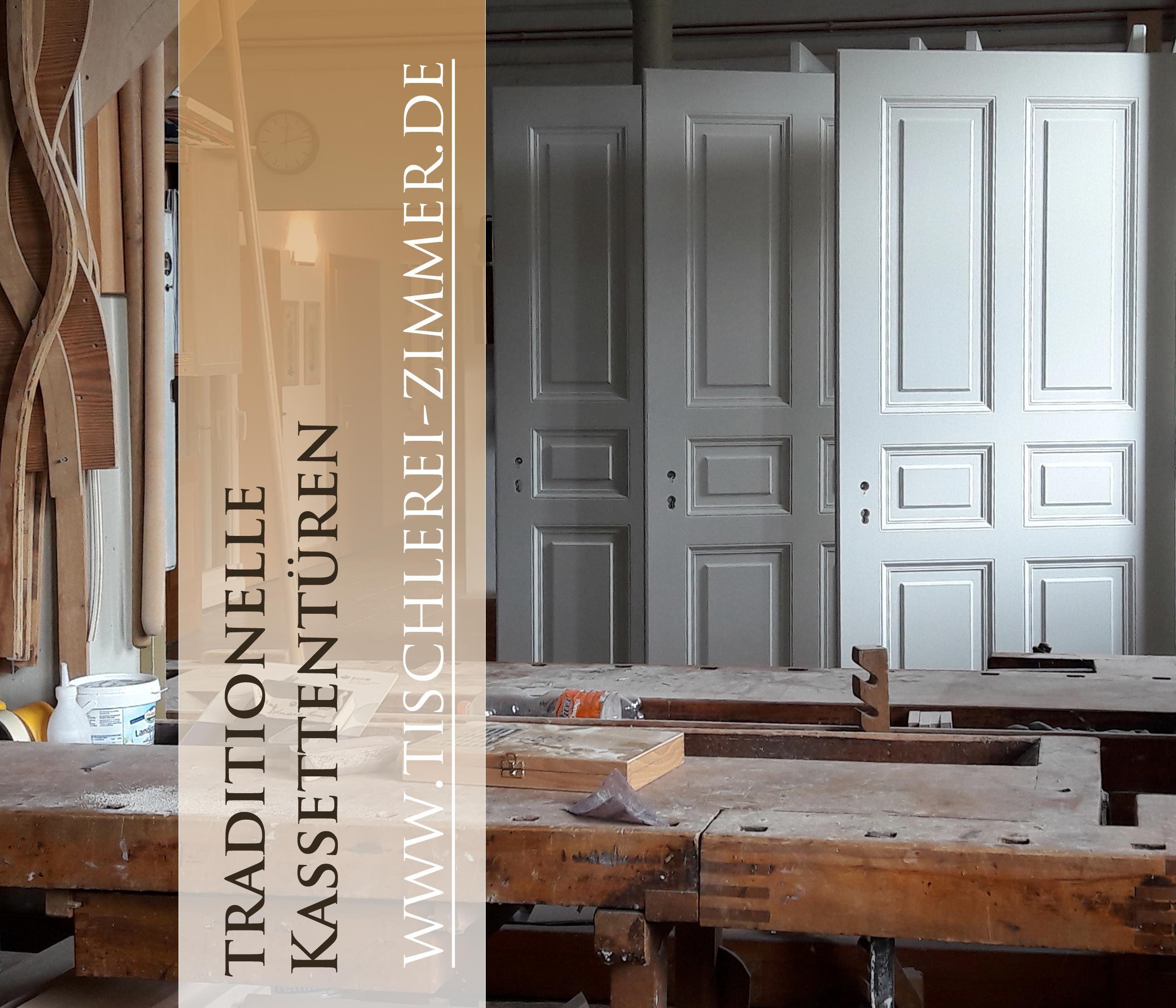 Traditionelle Kassettenturen Nach Historischem Vorbild Aus Massivholz Echte Handwerksarbeit Innenturen Landhaustur Kassette