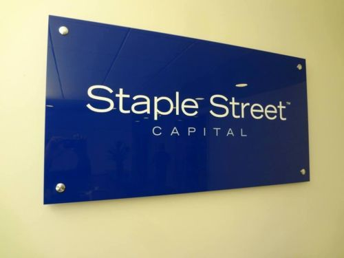 Standoff Plexiglass Signage NYC - We specialize in custom business signs in New York, NY. Visit our website below to contact us for a free consultation! http://www.signsvisual.com