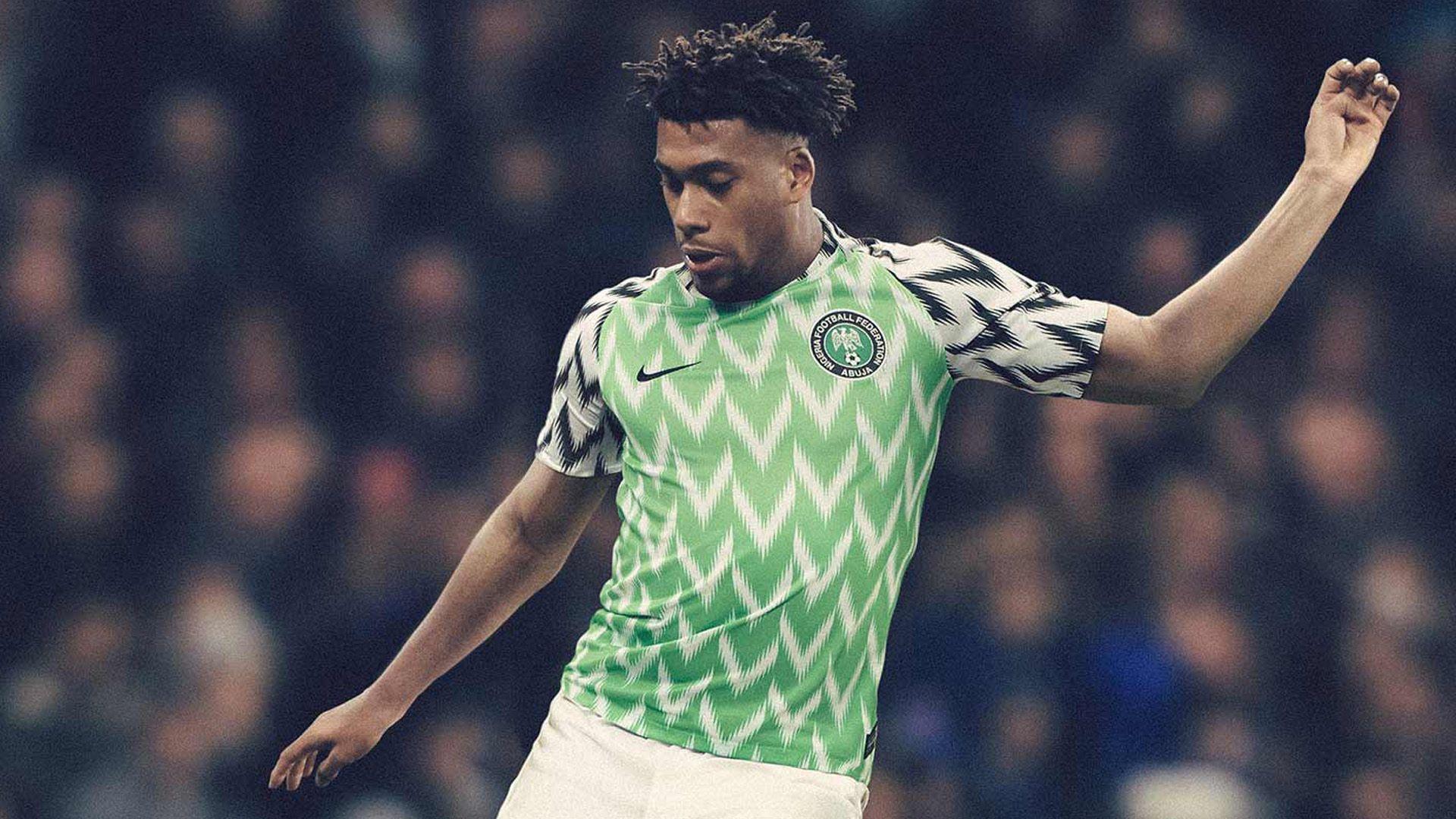 aa431e2d52 Camiseta Nigeria titular