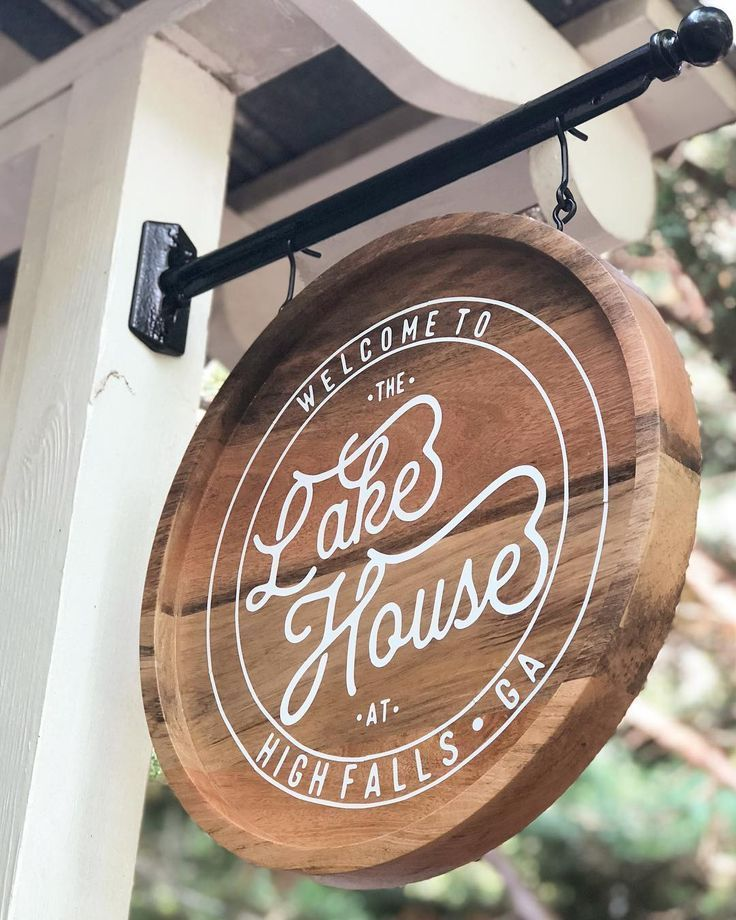 Cute lake house sign! - Architecture Diy#architecture #cute #diy #house #lake #sign