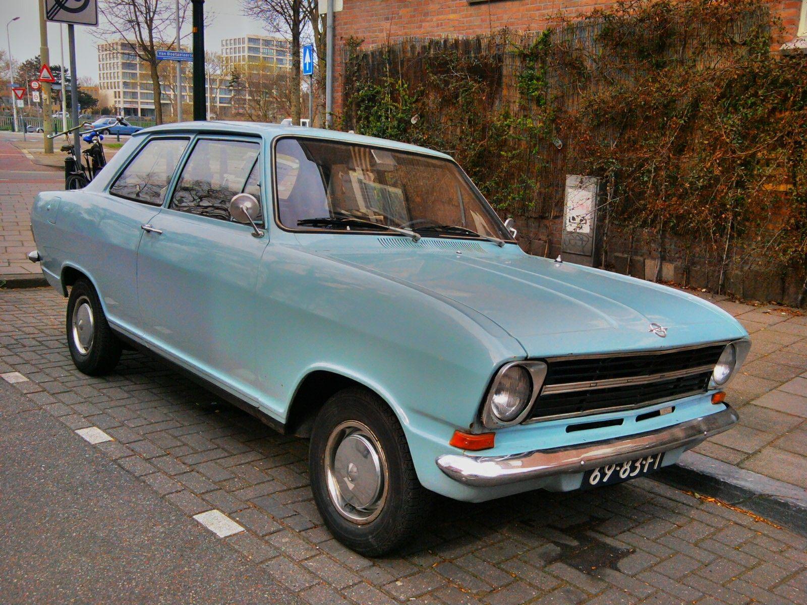 Opel kadett 1968