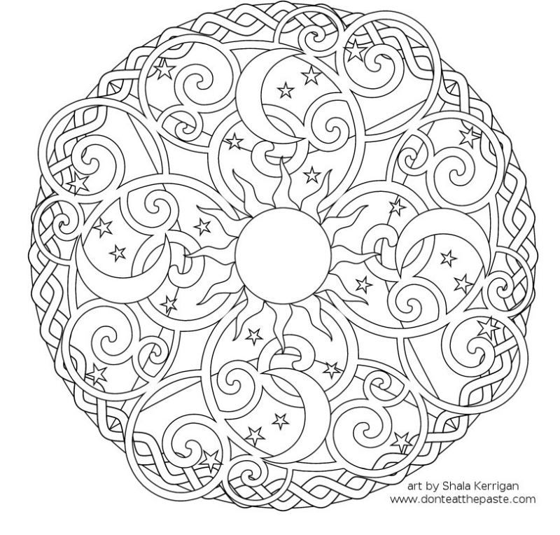 Here is your free coloring page for the month of March