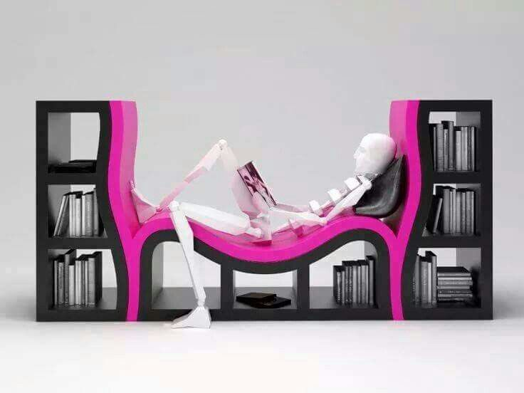 I love this book seating