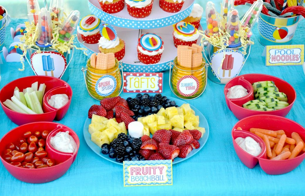 Pool Party Ideas For Kids waterpalooza pool party ideas Food For A Pool Party For Kids Pool Design Ideas