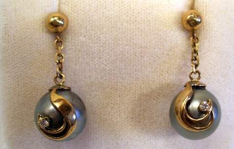 Black Pearl Jewelry Tahitian Available For Rings Necklaces Bracelets Pendants Earrings On Gold And Some With Diamonds