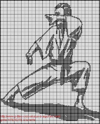 Grille de karate au point de croix pinterest pesquisa do google krizikova vysivka - Grille point de croix pinterest ...