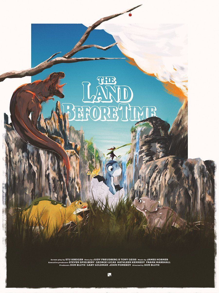 The Before Picture My Year Long Beard: The Land Before Time (1988) [900 X 1200]