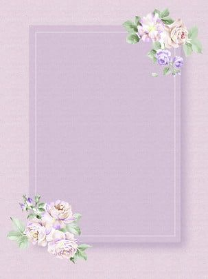 Simple Simple Concise Purple Pink