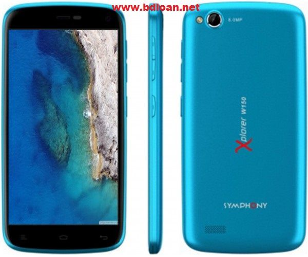 Symphony Xplorer W150 Smartphone in Bangladesh