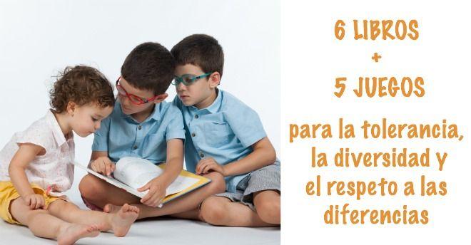 libros infantiles y juegos para la tolerancia, diversidad ...