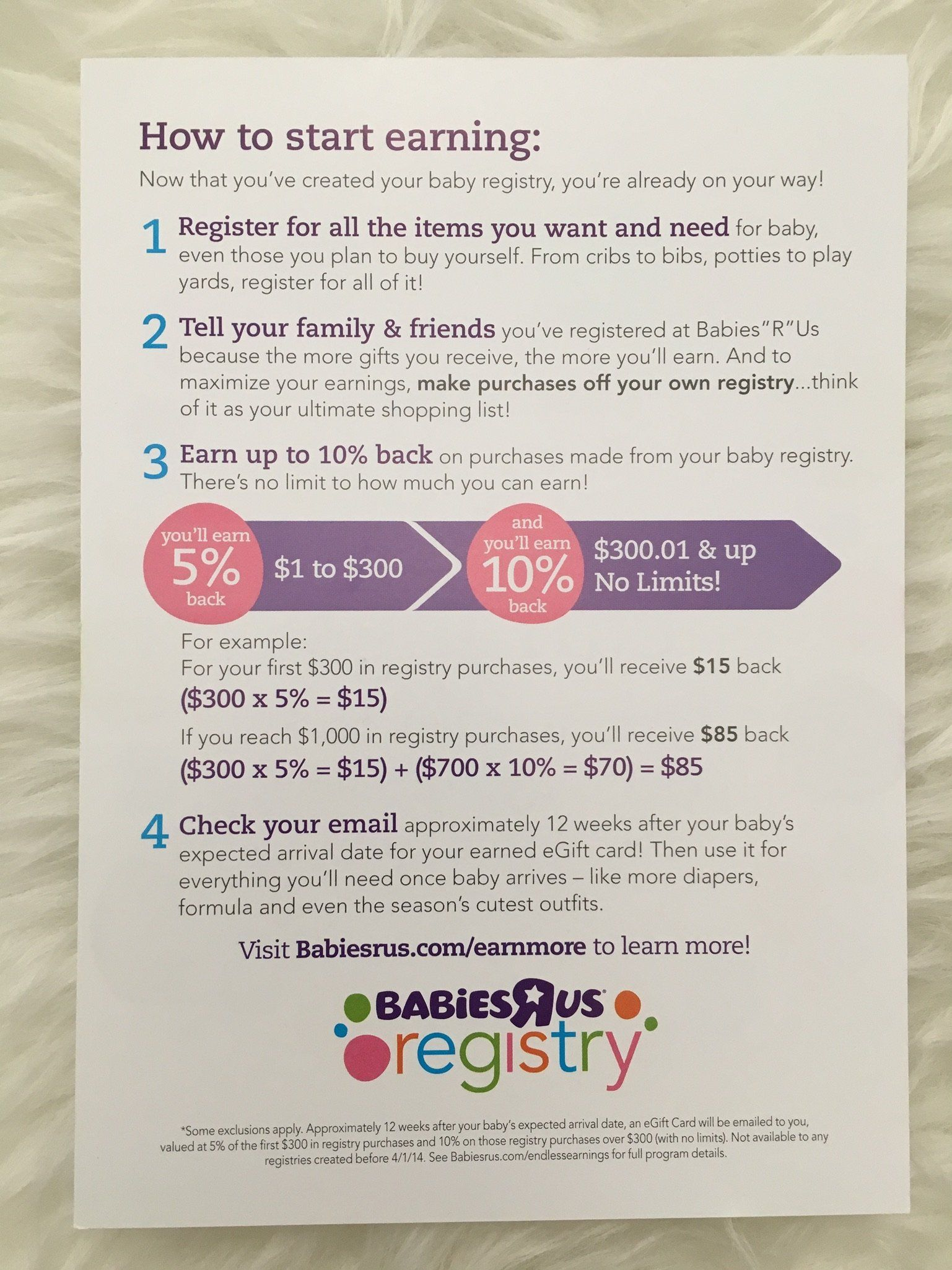 How To Get The Most From Your Babies R Us Registry Save Up To 25 Top Baby Spot Baby Shower Registry Babies R Us Registry