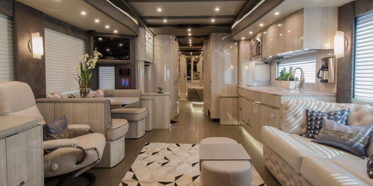 These 11 Stunning Luxury Rvs Are Nicer Than Most Full Sized Homes