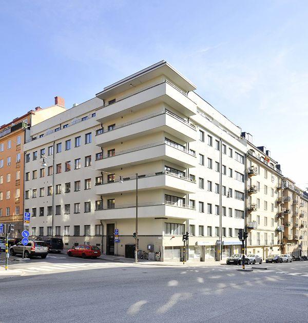 First funkis house in stockholm by Sven Markelius Arkitektur