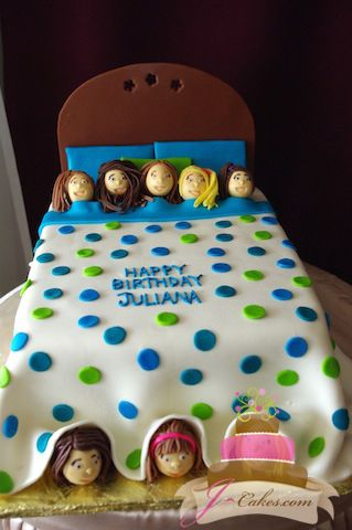451 Slumber Party Birthday Cake Kids Cakes Pinterest Slumber