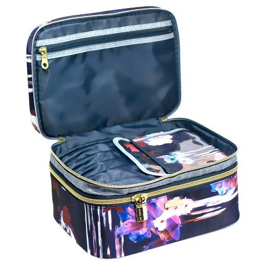 Sophia Joy Double Zip Train Case Cosmetic Bag Target