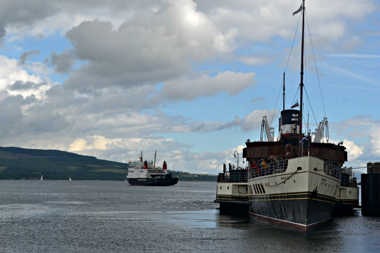 A Trip To Rothesay Scotland Alba Kin Pinterest Scotland # Magasins Fly A Colmac