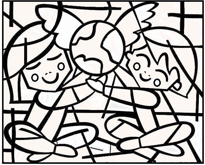 Desenhos De Romero Brito Para Colorir Obras De Romero Britto