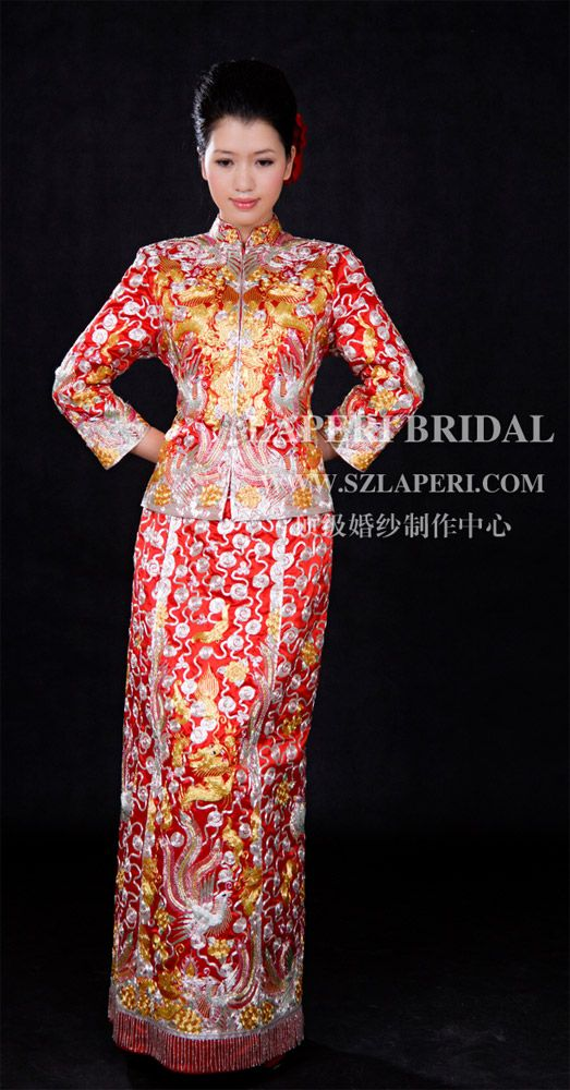 traditional Chinese wedding dress | My dream wedding | Pinterest