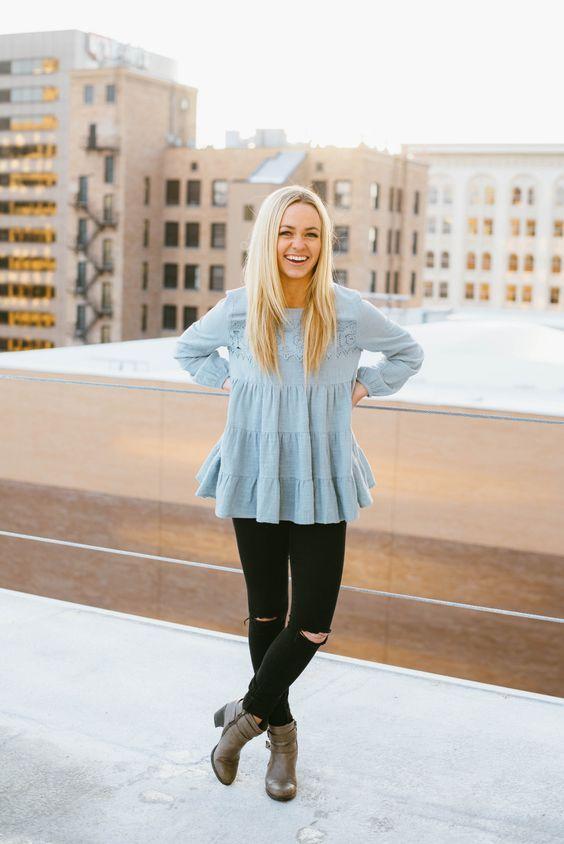 40 Perfect Blue Outfits Ideas You Are Going To Love - EcstasyCoffee