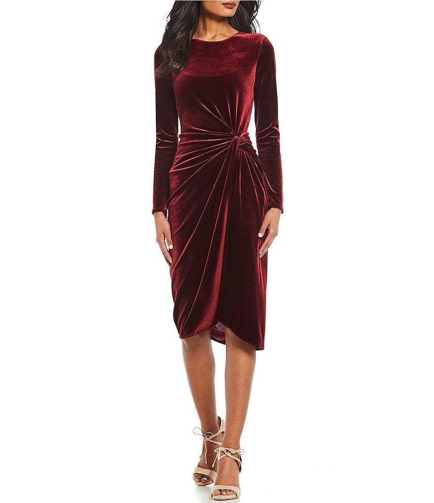 4149fa2fa01 Antonio Melani Natalie Dress. Antonio Melani Natalie Ruched Velvet ...