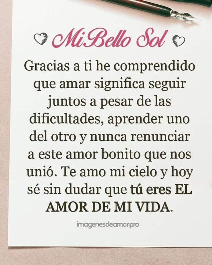 Love quotes for him - Carta para el amor de mi vida