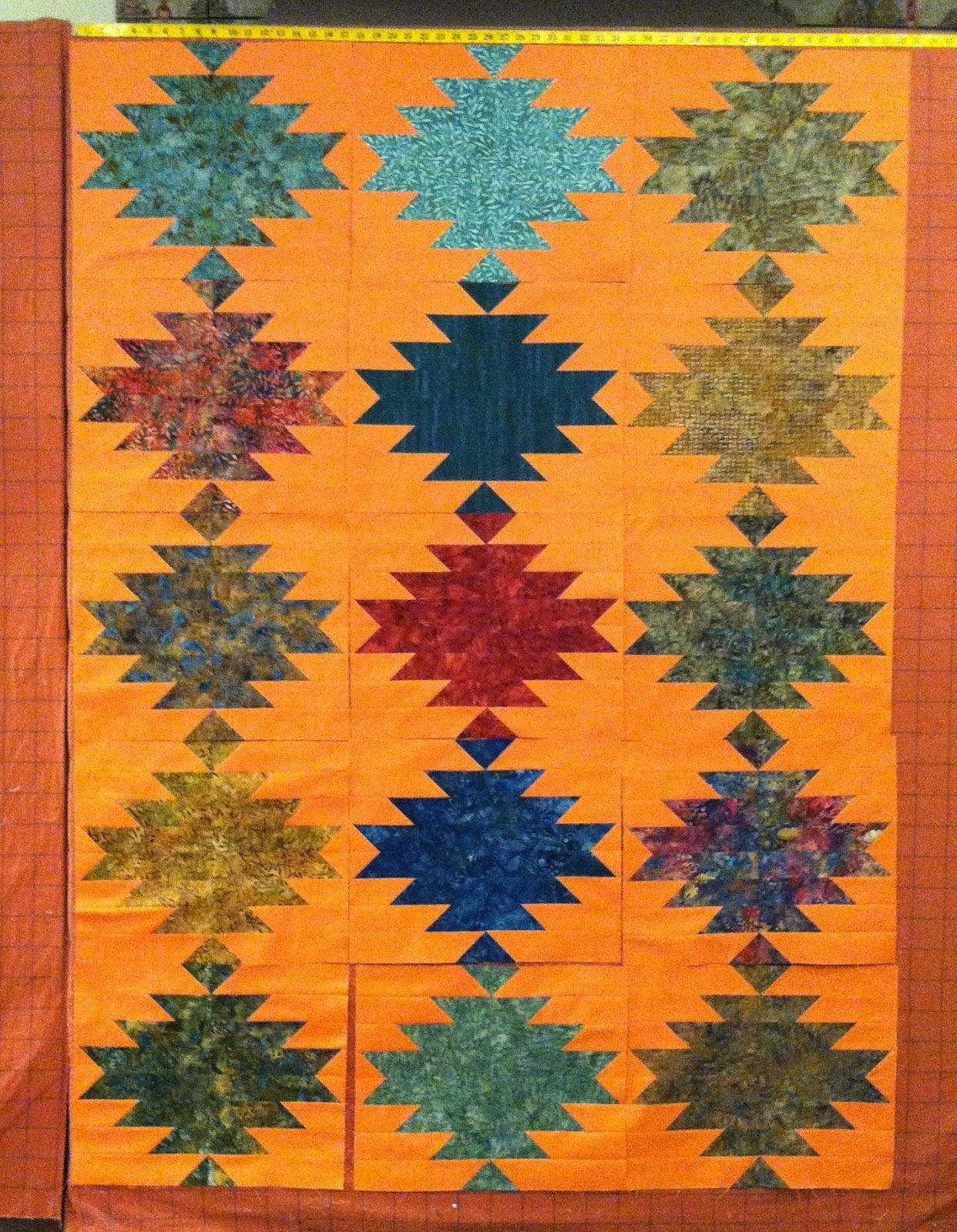 Sonoma Quilt Cut Loose Press Pattern I love the Southwest look