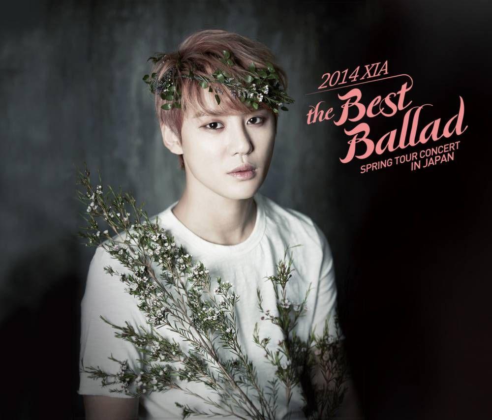 JYJu0027s Junsu Sings An Emotional Medley Of TVXQ Songs During His U0027XIA The  Best Ballad Spring Tour Concertu0027 In Japan